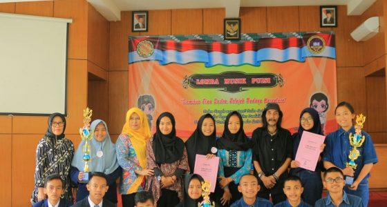 Juara 3 Lomba Musik Puisi se Malang Raya