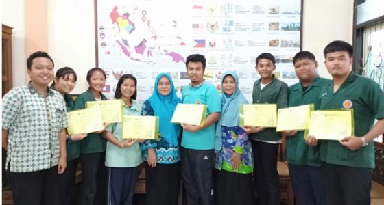 Kunjungan Siswa dan Guru dari Thailand  1 – 2 April 2019